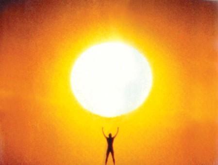 Man and Sun